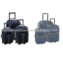 Stocklot/Stock lot/Closeout/Fresh stock 3 pieces trolley luggage/trolley case