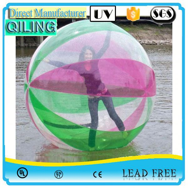qiling Hottest summer sport inflatable water boll for sale sport
