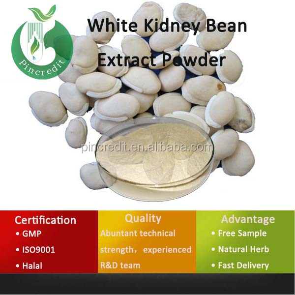 Phaseolin 2% white kidney bean extract