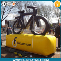 Bicycle bike promotion inflatable logo replica for advertising