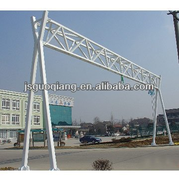 Giantl Frame steel Structure (hot dipped galvanized)