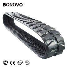 YUCHAI YC45 300x55x86 Rubber track / Rubber crawler for Excavator parts