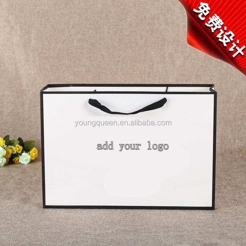 ZW411 Printed paper gift bag with your own logo in packaging bags