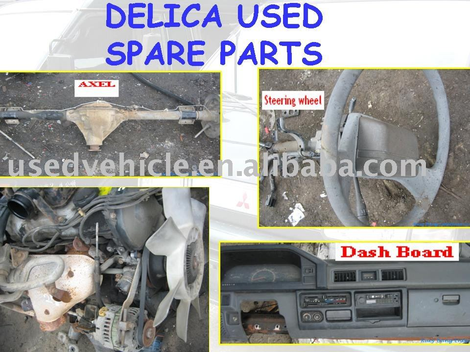 MITSUBISHI DELICA VAN SPARE PARTS ( engine , exhaust, doors , glass , etc )