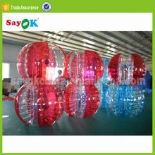 2017 Popular cheap inflatable plastic kid size baby human sized hamster ball for sale