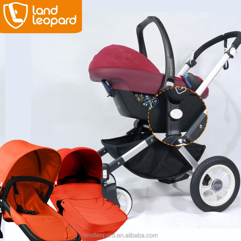 The best famous 3 in 1 Zebra-series baby strollers supplied with good foot muff to the carrycot & convertible seat unit