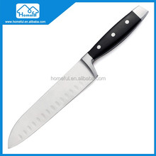 Deluxe Forged Bolster With POM Handle Santoku Knife