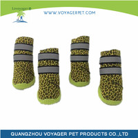 Lovoyager Fashionable yellow pet shoes with low price