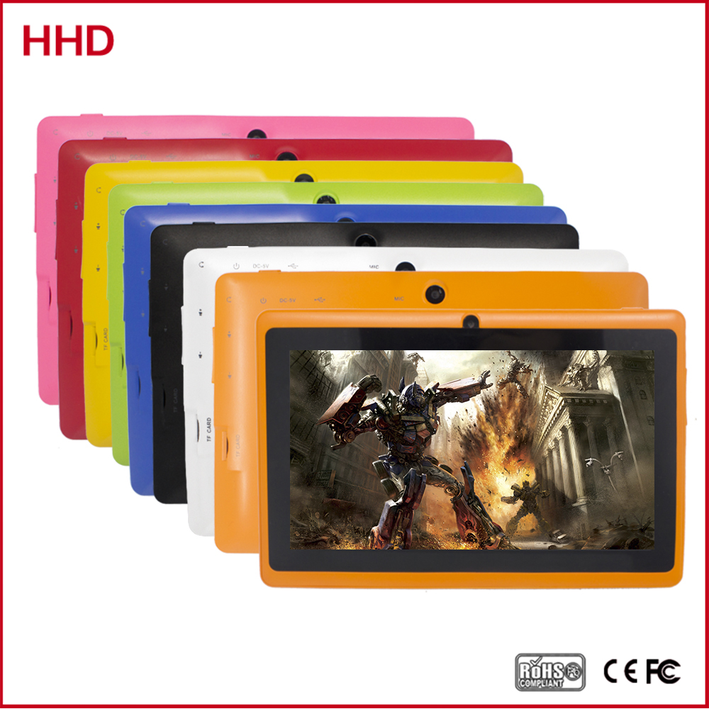 7 inch A33 Q88 android 4.4 mid Quad Core Android WIFI Bluetooth PC Tablet