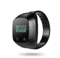 Spy Personal Tracker for prisoner wrist GPS tracker watch with geofence/disassembly alert and free APP