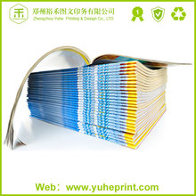 OEM professional offset printing cheap coloring American adult type hot stamping ls magazine American