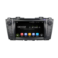 8 inch double din in dash car dvd player for Mazada 5/Premacy 2009-2012 with Gps navigation