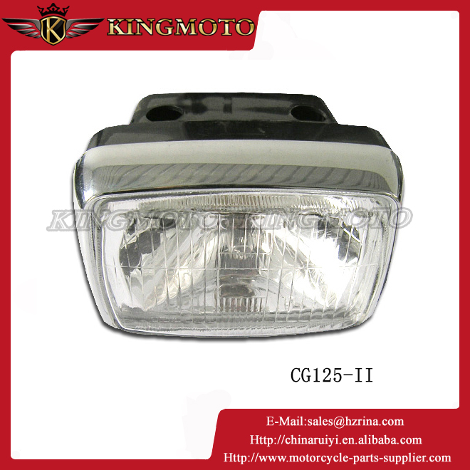 KINGMOTO 20151017 CG 125 High power DIY 5 Color Temperature 3S Auto car led motorcycle headlight