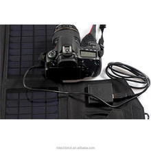 18V / 5V 21W Portable Folding Solar Panel / Cell / Solar Charger Bag for Laptops / Mobile Phones