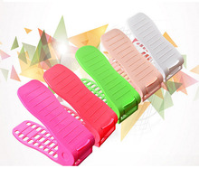 Wishome Brand Cheap Plastic Double Shoe Rack