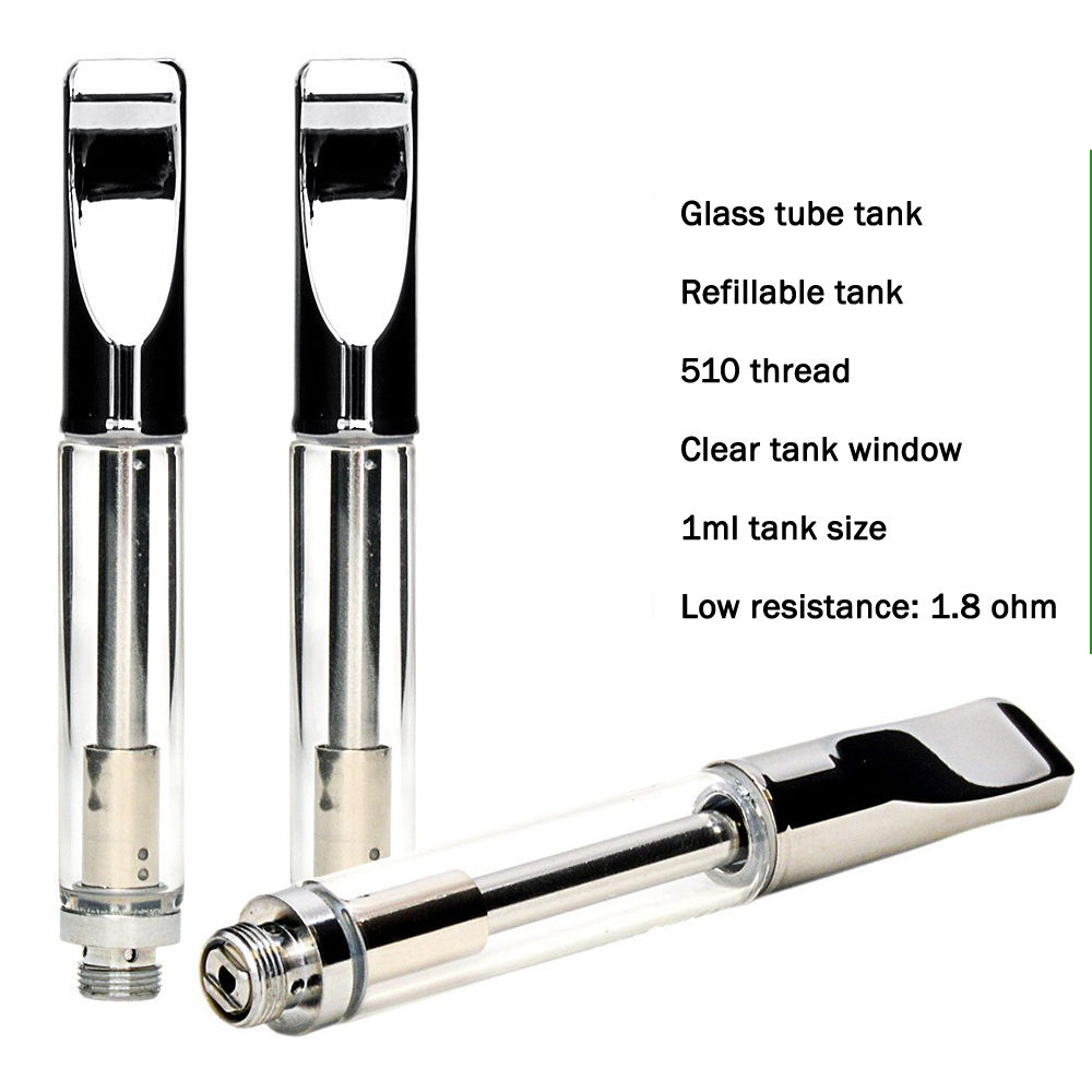 Stainless steel A3 Creamic Atomizer 510 thc Glass Cbd Oil Gold Pen Vape Cartridges