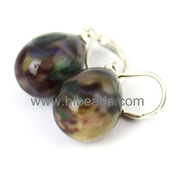 New charms shell pearl earrings 925 sterling silver hook Shell-pearl-88-08