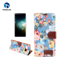 New Arrival Flower Cloth Pattern holder for Samsung Galaxy Note 8 Leather Flip Case