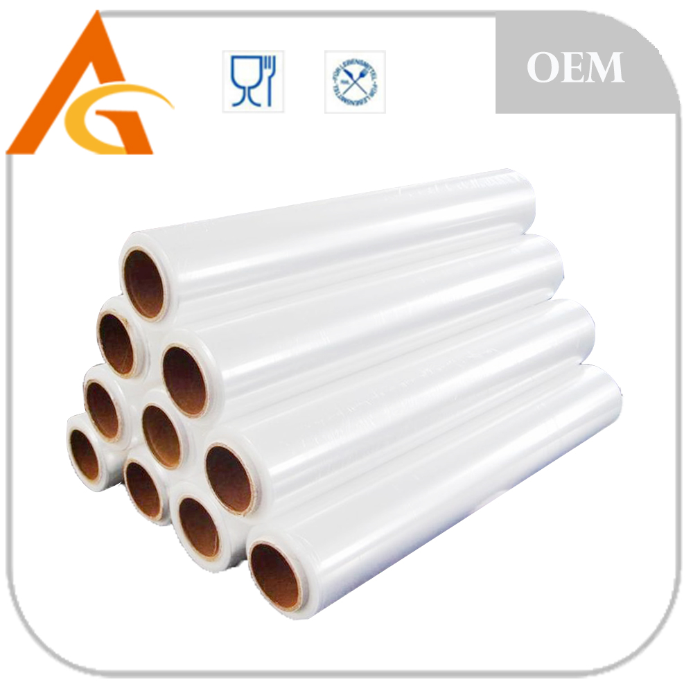 Food baking and strong cheap and customed pallet wrap stretch film (iso) for fresh food