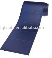 Photovoltaic thin film flexible amorphous solar pv module