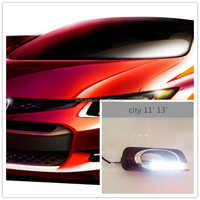 Factory popular sale high quality led DRL for Honda city car led drl head light