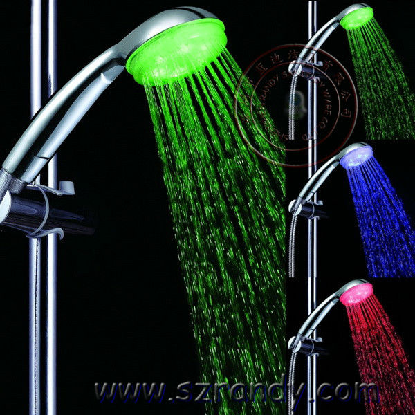 Self-Power Temperature Detectable exquisite Bath Shower Set
