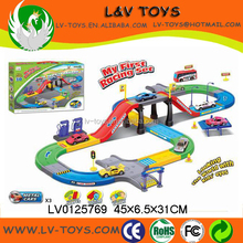 LV0125769 Battery operated track set B/O slot car