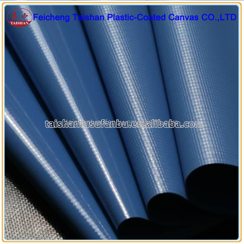 PVC laminated fabric tarpaulin/tent/cover/construction fireproof