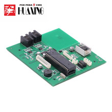 PCB , assembly and original components buy , 2 layer, fr4 material, 1.6mm, HASL