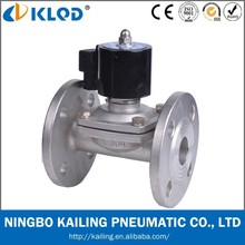 Stainless steel flange connection water solenoid valve 2WBF-40