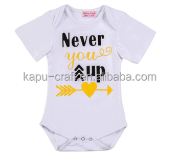 100% cotton new born baby romper,short sleeve romper for summer