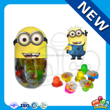 65pcs mini cup fruit jelly in Minions