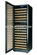 168 Bottles Full glass door compressor Wine cooler