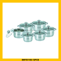 Professional high stainless steel cookware set for wholesales