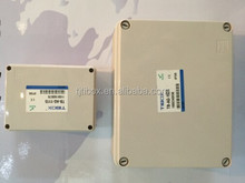wall switch box plastic box with knock out and rubber fiber pvc electrical switch box