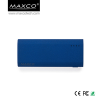 MAXCO Long lasting lithium ion battery mobile power bank 5200 mah supply