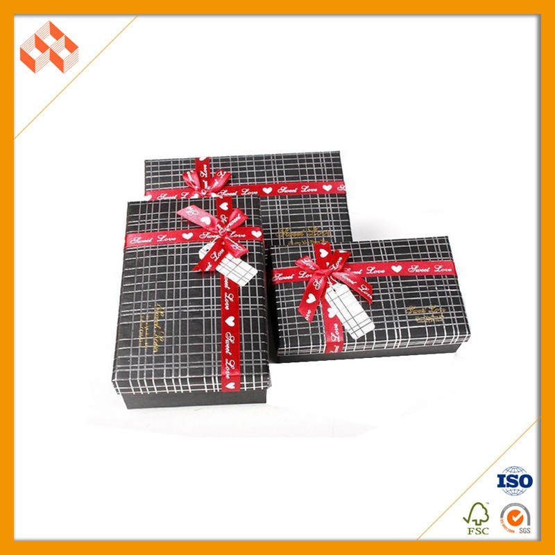 Awesome design paper packaing gift box small quantity