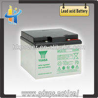 Top quality sealed lead acid battery 12v 24ah yuasa npl24-12 super battery 12v 24ah agm deep cycle
