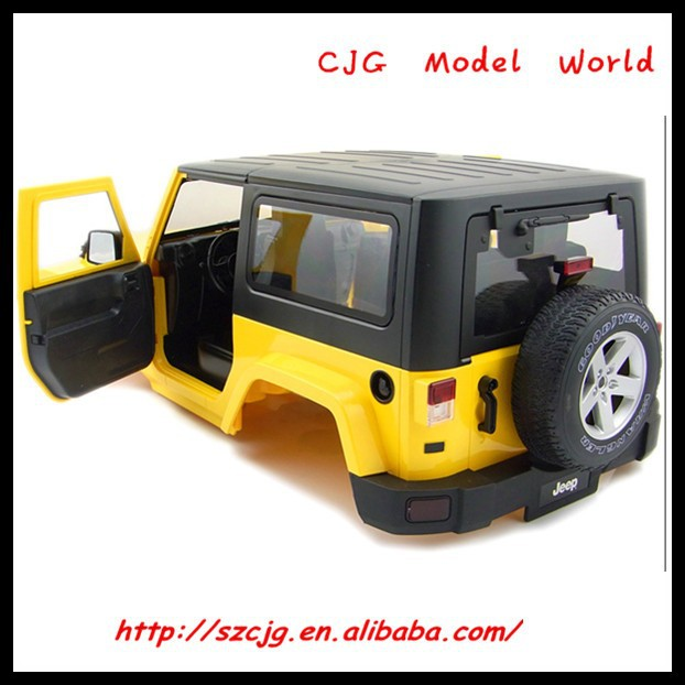 1/10 rc car body jeep plastic body for sale