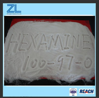 White crystalline powder Hexamine cas no.: 100 - 97 - 0