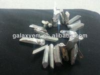 Aura Quartz Point Loose Beads 25-55mm 16 inch