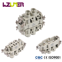 WZUMER Automotive Electrical Connector Types Insert HK004 4 Pin aviation waterproof connector manufacturer