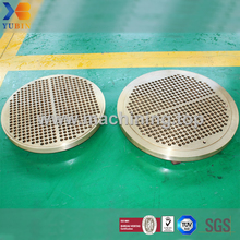 Carbon Steel/Stainless Steel/Copper Upper Tubesheet for Heat Exchanger