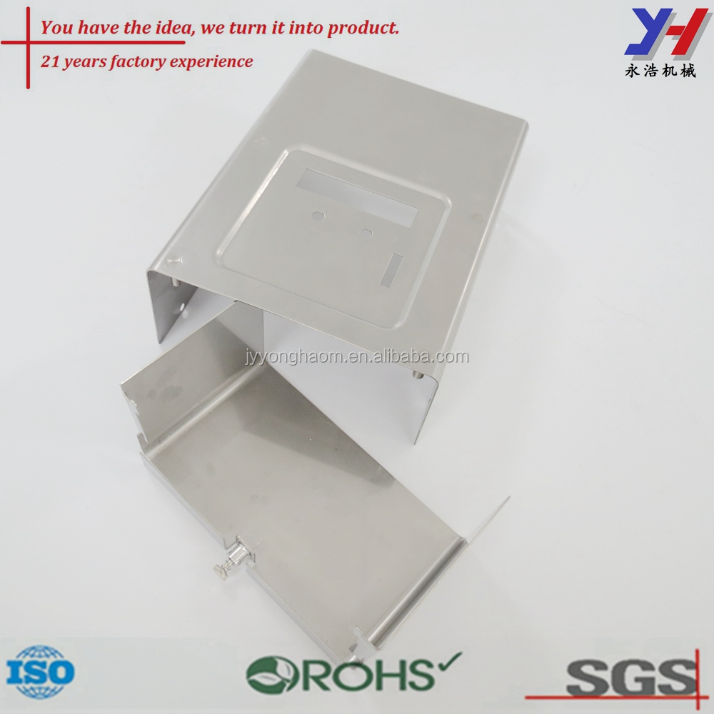Factory custom stainless steel riveted ventilation stamping appliance cover
