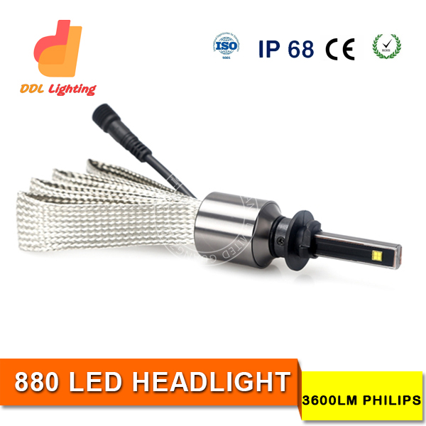 Made in China aluminum 30w 7200 lumens led work light bajaj pulsar 180 motorcycle headlight with good price