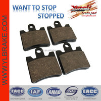 motorcycle brake pads for DAELM S1-125/SUZUKI AN 400 K3/K4/K5/K6/SK6 Burgman/SYM RV 250,ceramic disc brake pads