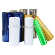 Transparent white colour pvc film roll for blister packing industry printing pvc sheet