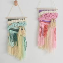 Crochet handmade wall hanging decorative macrame wall hanging