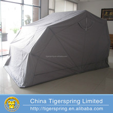 outdoor garage motor tent