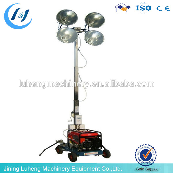 Rechargeable Portable LED electric light Construction Mobile light tower - LUHENG